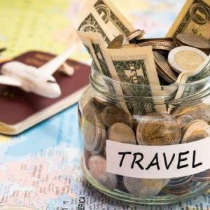Juntar dinheiro para viajar -Mapa