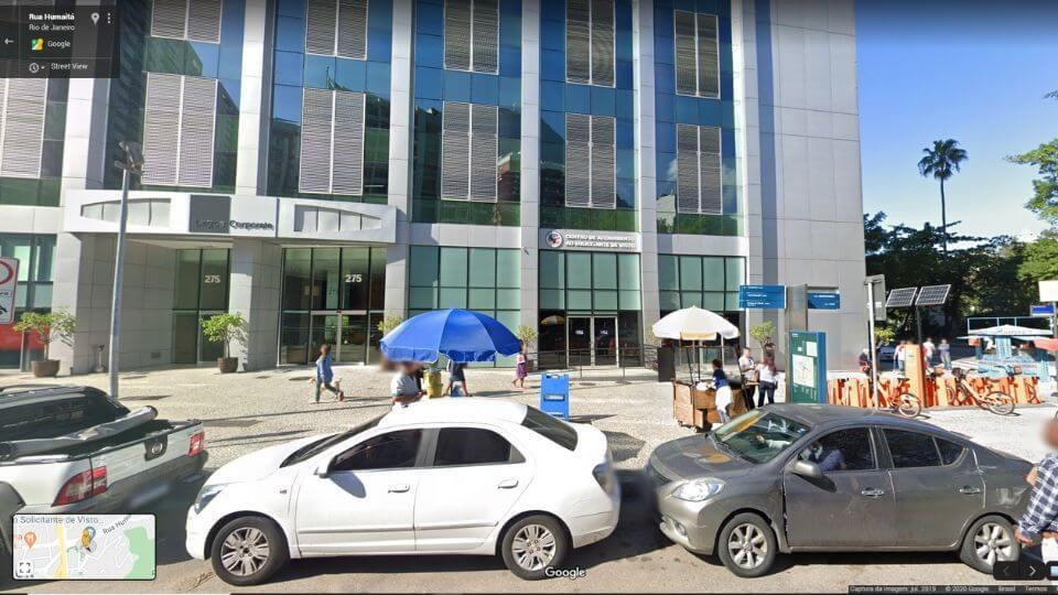 CASV Rio de Janeiro Google Maps