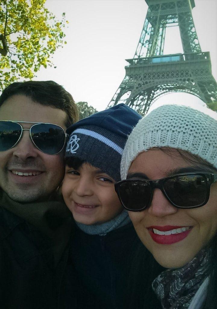Família Viagem Paris