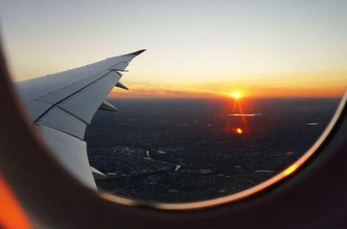 Janela Avião viajar