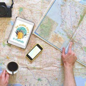 Planejar uma viagem roteiro