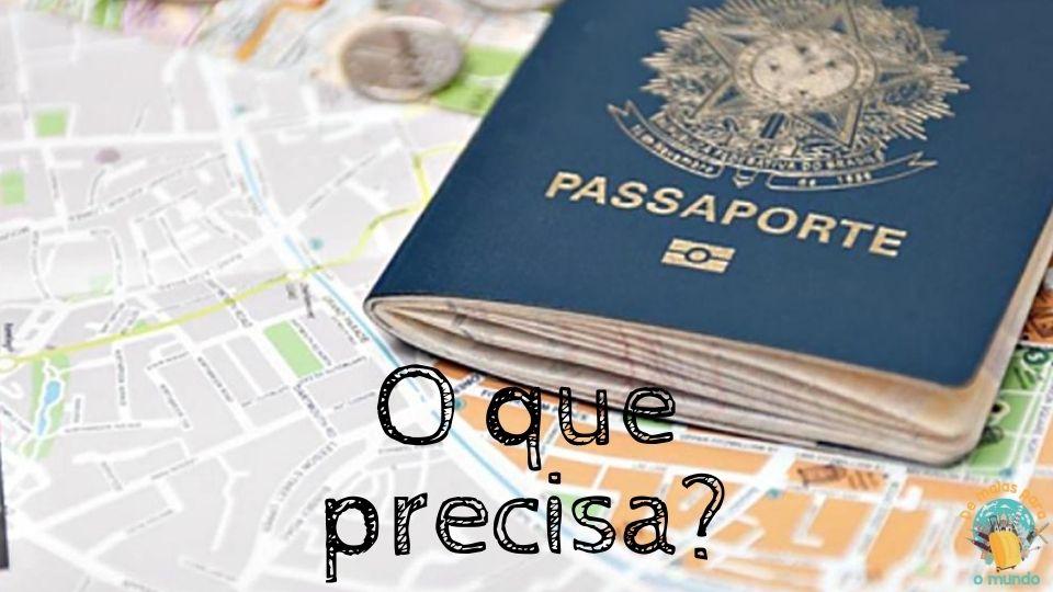o que precisa para tirar o passaporte