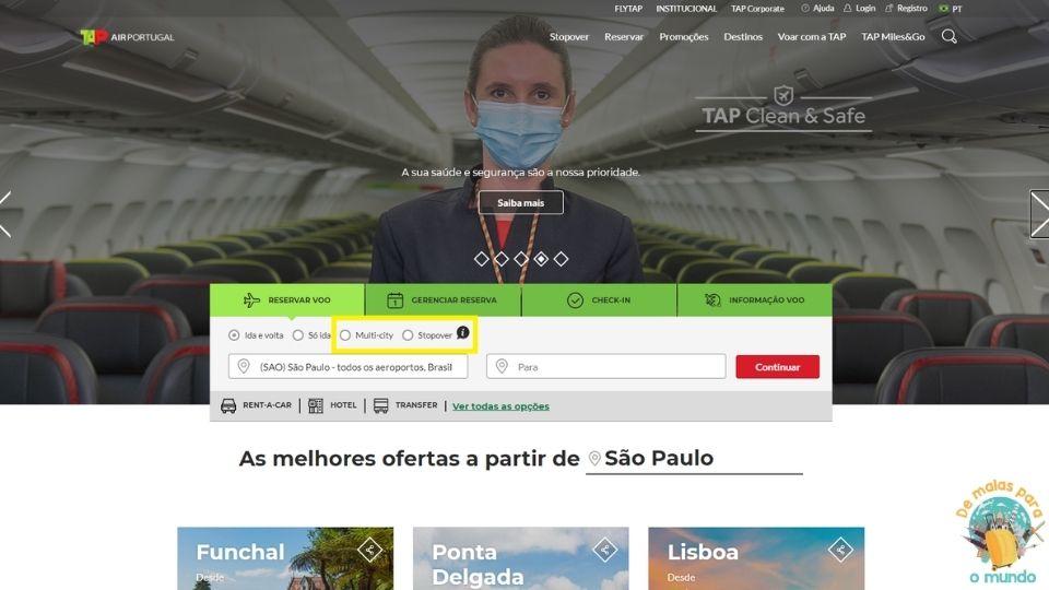 Portugal Site TAP