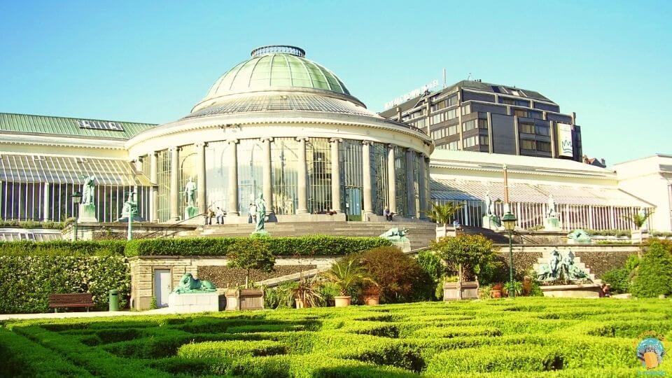 Bruxelas - Admire Le Botanique
