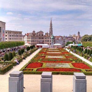 o que fazer em Bruxelas - Mont des Arts