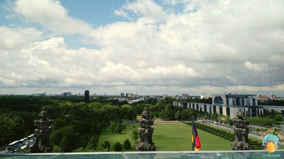 O que fazer em Berlim - Parque Tiergarten