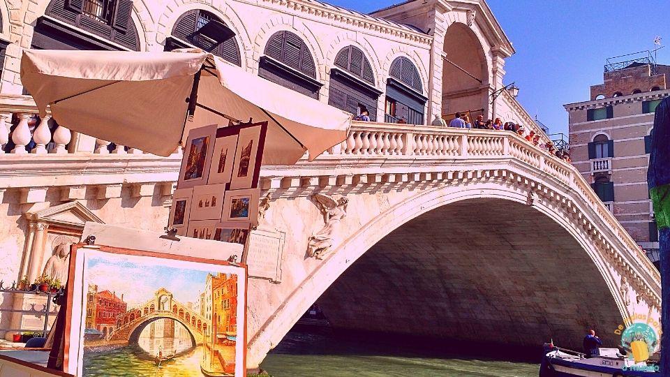 O que fazer em Veneza ponte Rialto
