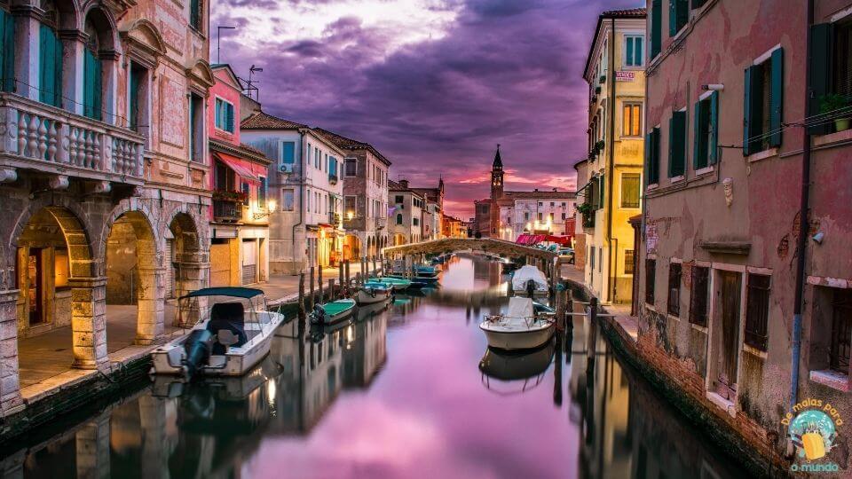 O que fazer em Veneza a noite